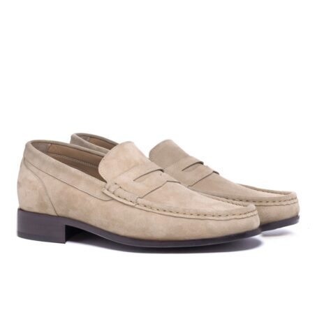 Suede penny loafers 5
