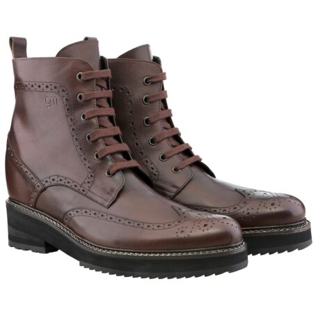 Brogue boots for man 5