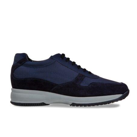 Blue suede sneakers 1