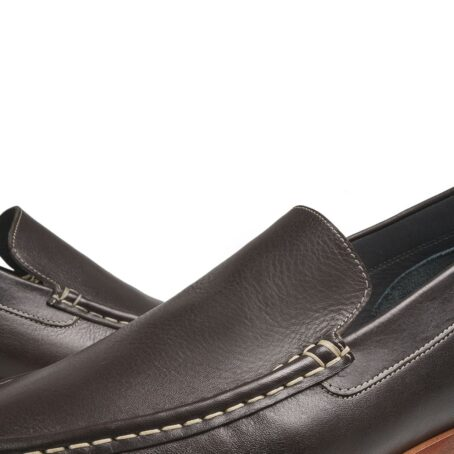 Black penny loafers 6