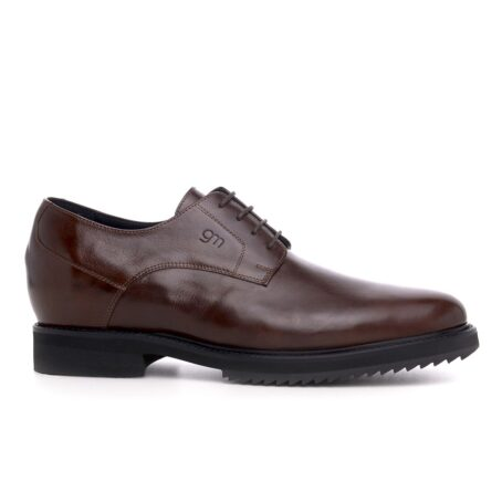 Derby brown dress shoes 1