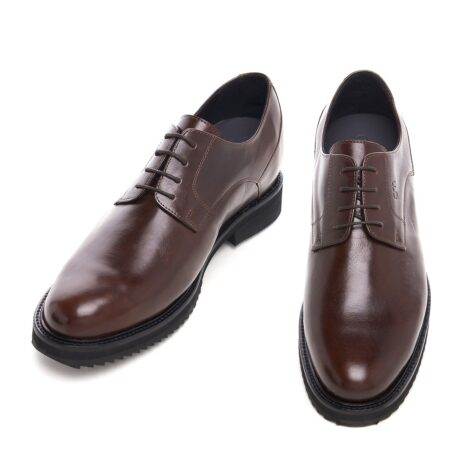 Derby brown dress shoes 2