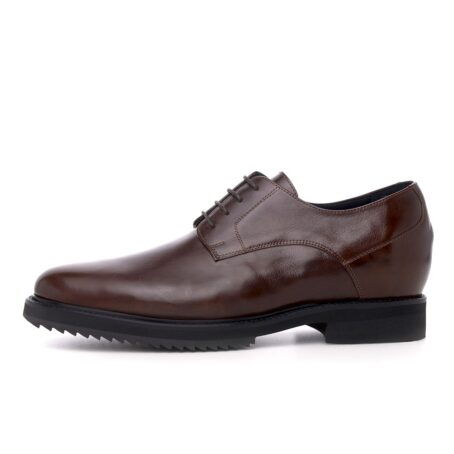 Derby brown dress shoes 3