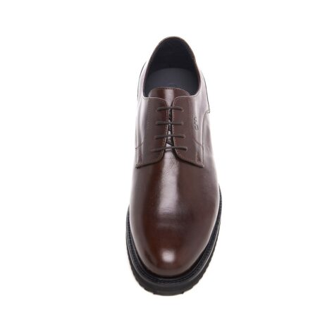 Derby brown dress shoes 4