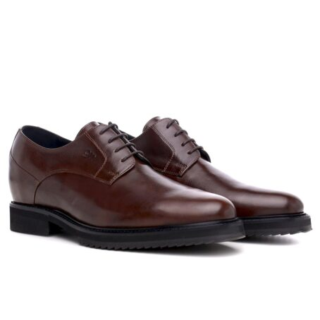 Derby brown dress shoes 5