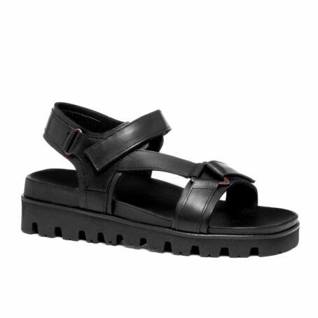 Black sandals 1