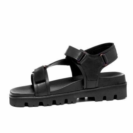 Black sandals 3