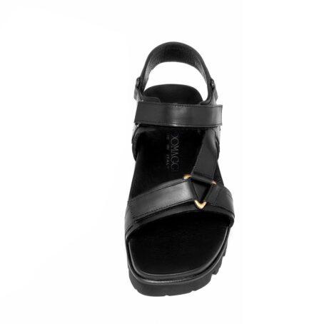Black sandals 4