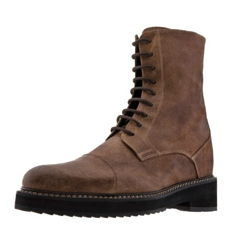 Suede brown boots 3