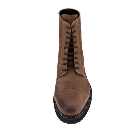 Suede brown boots 4