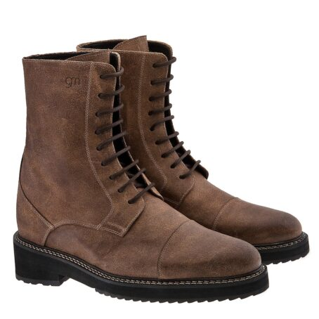 Suede brown boots 5