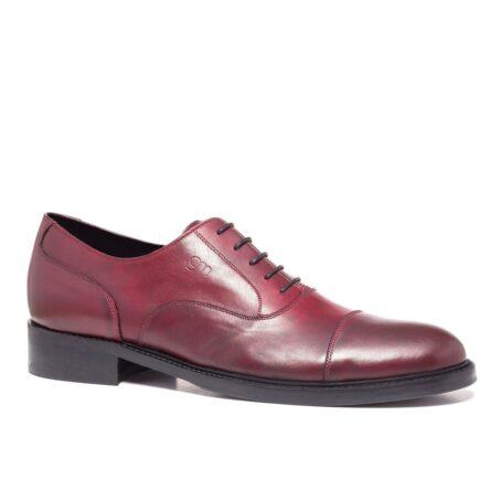 Patina bordeaux oxford shoes 1