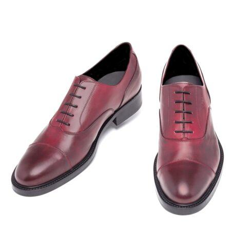 Patina bordeaux oxford shoes 2