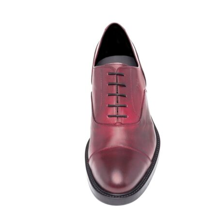 Patina bordeaux oxford shoes 4