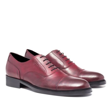 Patina bordeaux oxford shoes 5