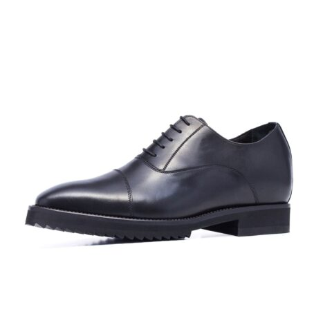Black shiny oxford dress shoes 3