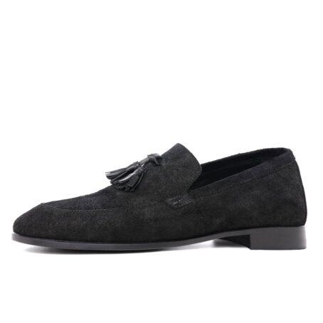 Tassel suede loafers 3