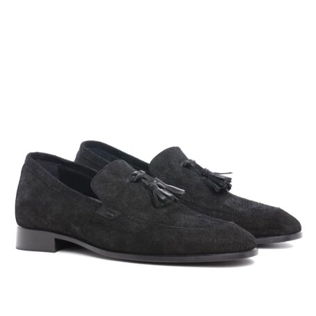 Tassel suede loafers 5