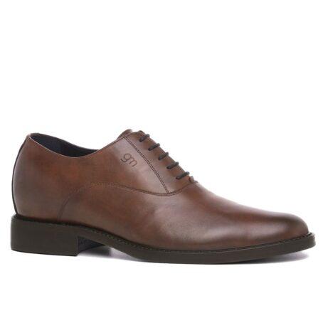 Elegant brown oxford dress shoes 1