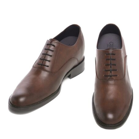 Elegant brown oxford dress shoes 2