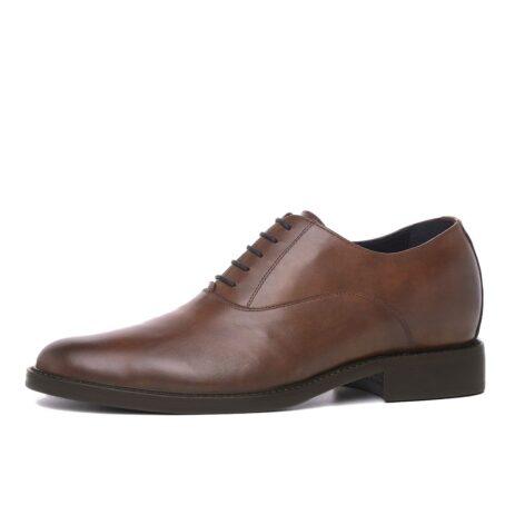 Elegant brown oxford dress shoes 3
