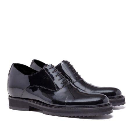 Patent oxford shoes for elegant men 5