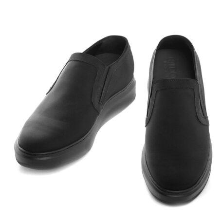 Black sli-ons for man 5