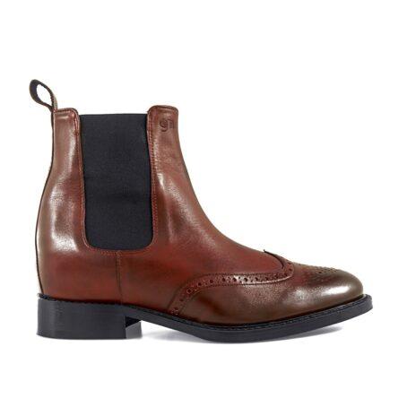 Wingtip chelsea boots 1