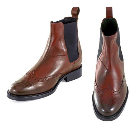 Wingtip chelsea boots 2