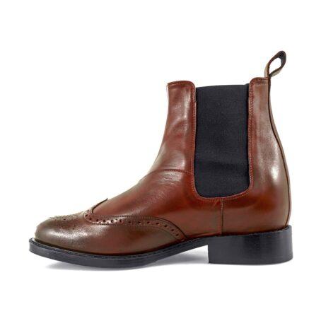 Wingtip chelsea boots 3
