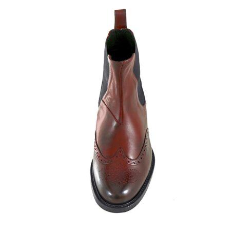 Wingtip chelsea boots 4