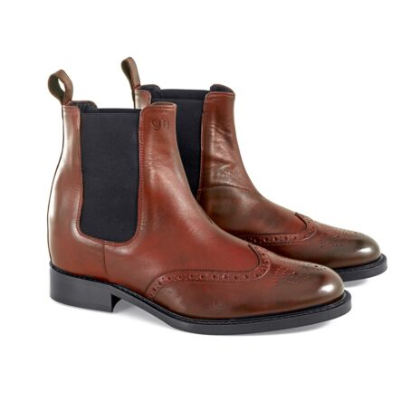 Wingtip chelsea boots 5