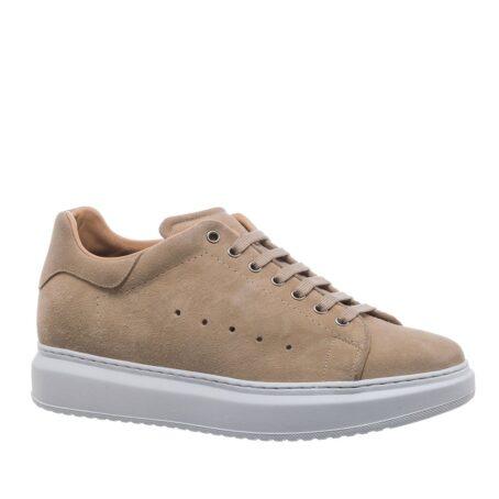 beige sand sneakers 1