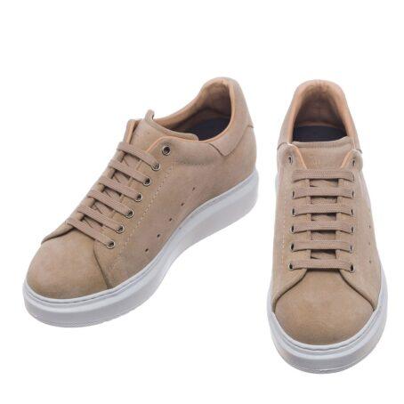beige sand sneakers 2