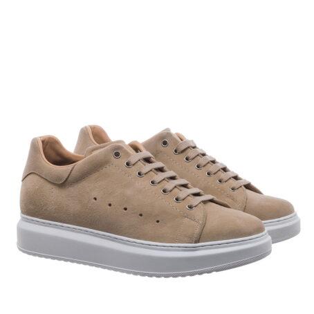 beige sand sneakers 5