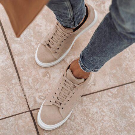 beige sand sneakers 6