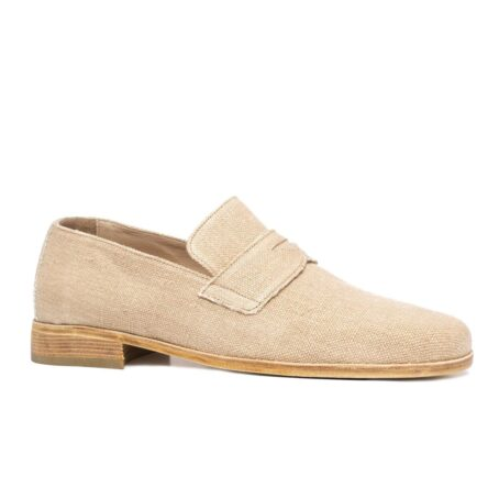 Cotton penny loafers for summer 1