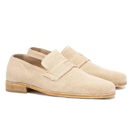 Cotton penny loafers for summer 5