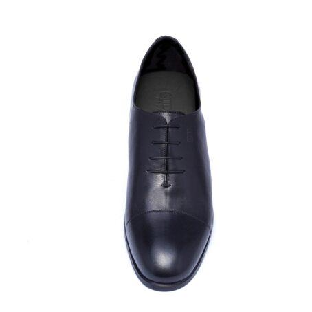 Black wholecut shoes 4