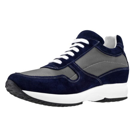 Blue and grey sneakers 3