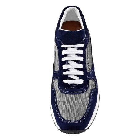 Blue and grey sneakers 4