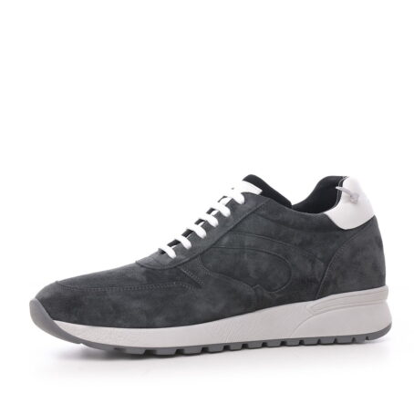 Grey suede sneakers 3