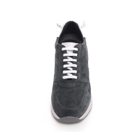 Grey suede sneakers 4
