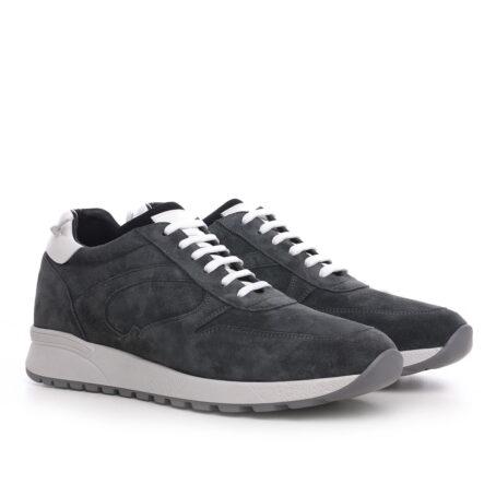 Grey suede sneakers 5