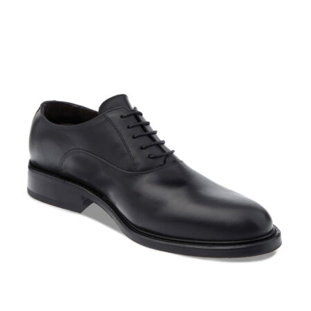 Black oxford dress shoes for man 1