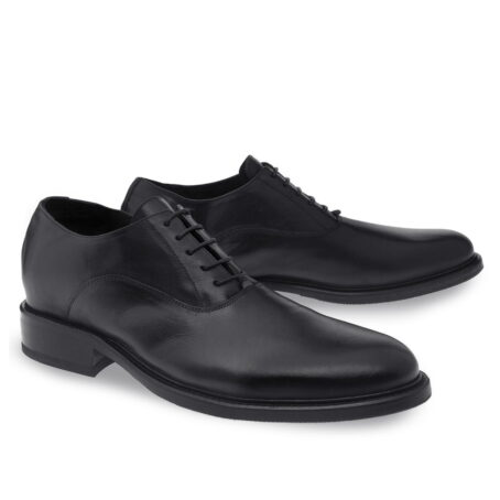 Black oxford dress shoes for man 2