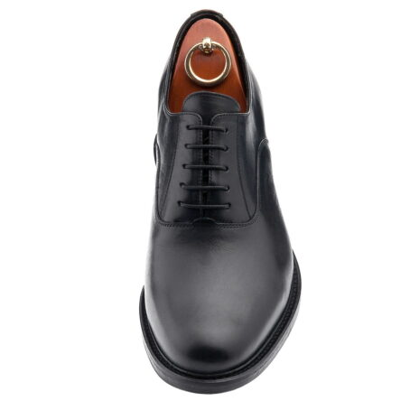 Black oxford dress shoes for man 3