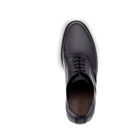 Black oxford dress shoes for man 4
