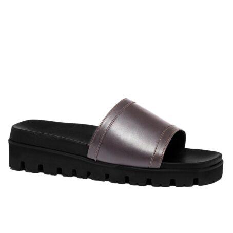 Grey elevator sandals 1
