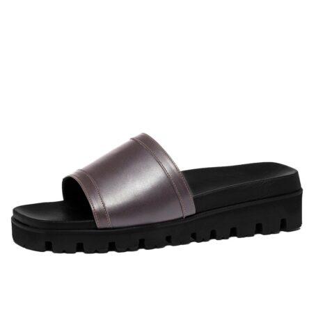 Grey elevator sandals 3
